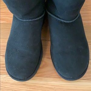 UGG Shoes - Black Bailey Button tall Ugg boots